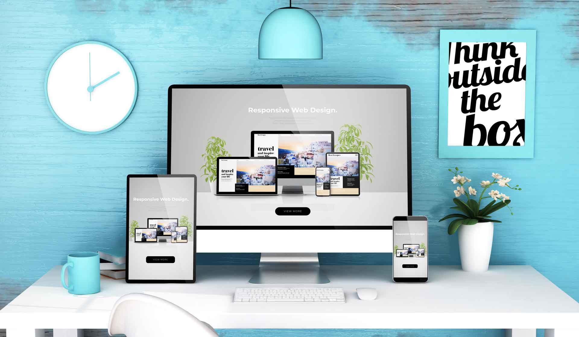 Realizzazione siti web professionali e dinamici